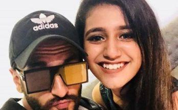 selfie ranveer singh priya prakash