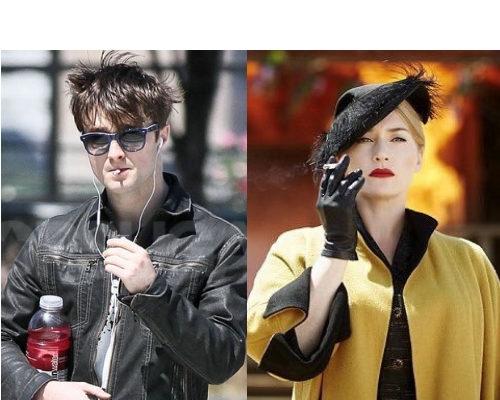 Celebrities Smoking