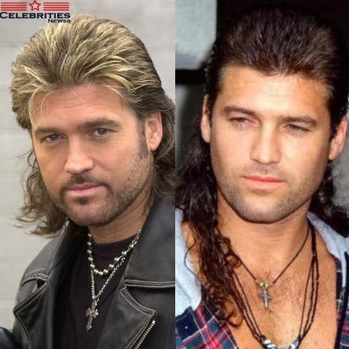 Billy Ray Cyrus Mullet Hairstyle