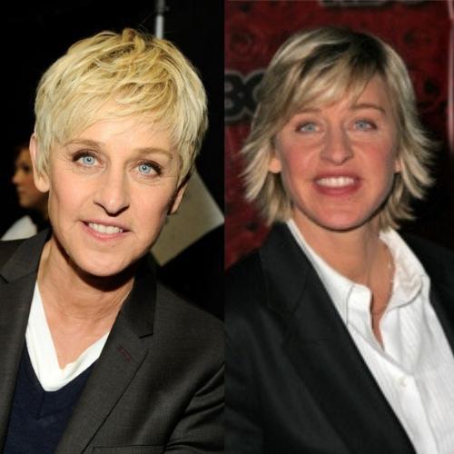 Ellen DeGeneres Mullet Hairstyle