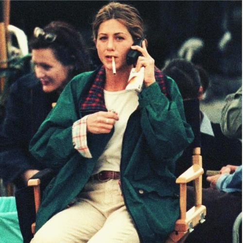 Jennifer Aniston Smoking