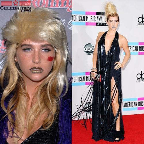 Kesha Mullet Hairstyle