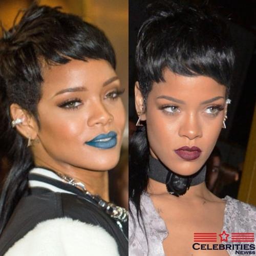 Rihanna Mullet Hairstyle