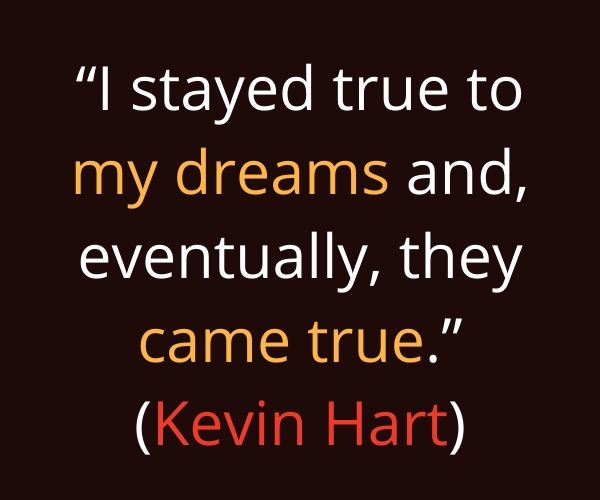 kevin hart inspirational quotes