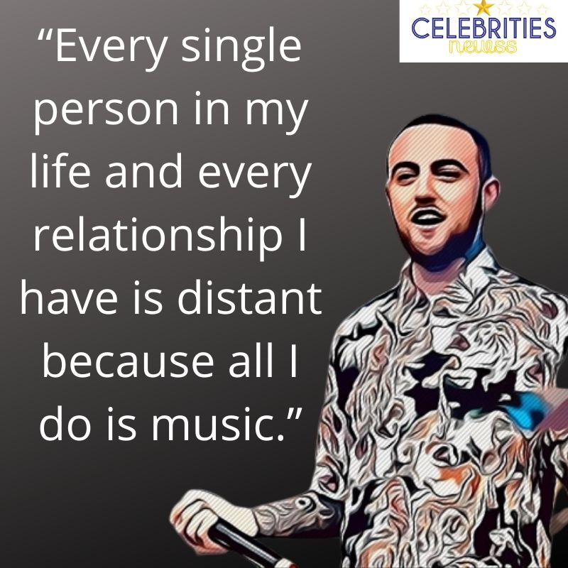mac miller quote poster