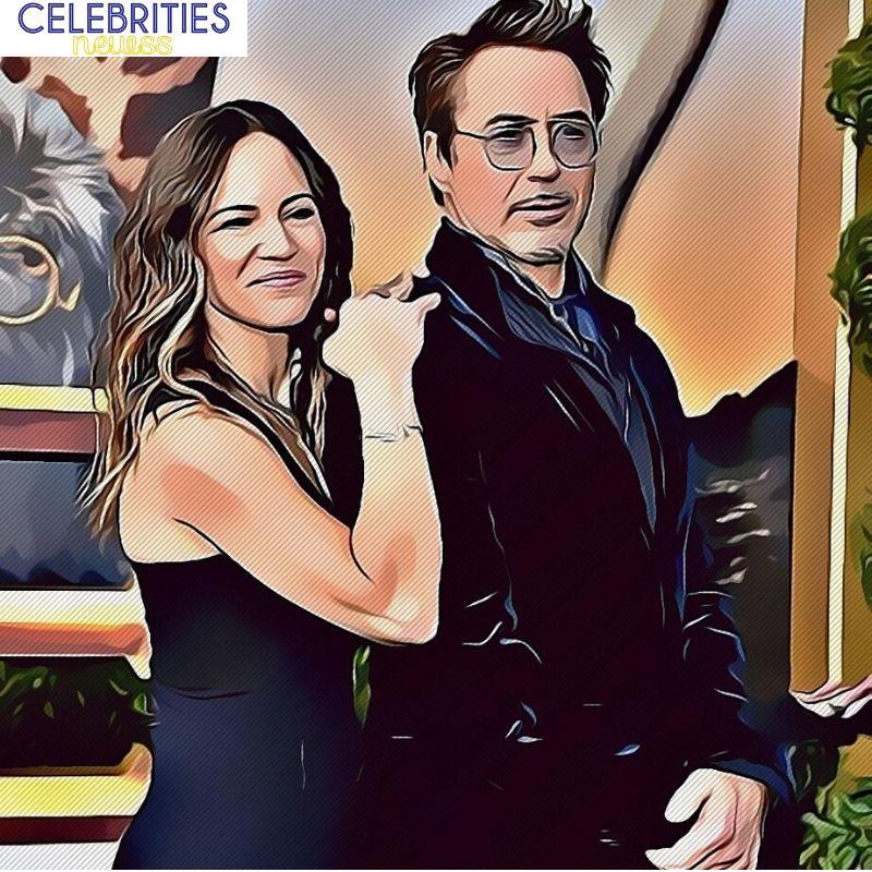 Robert Downey Wife