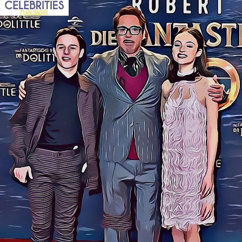 robert downey jr kids
