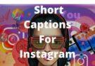 Short Captions For Instagram
